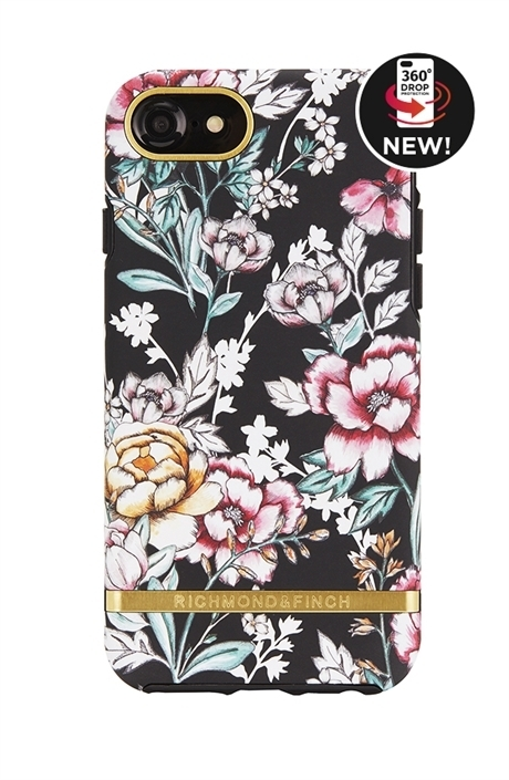 RICHIMOND&FINCH☆ iPhoneケース FREEDOM SERIE☆BLACK FLORAL