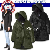 -CANADA GOOSE- レディース Kinley Parka パーカ  即発・税込
