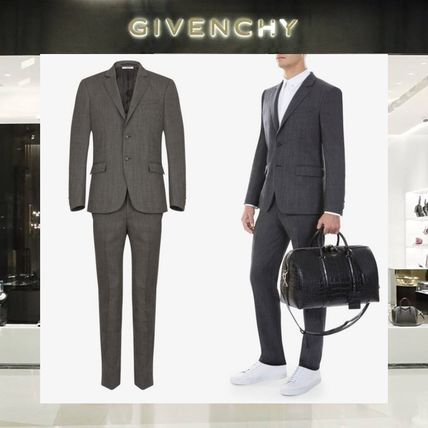 【18SS NEW】 GIVENCHY_men /TECHNICAL WOOLスリムスーツGY