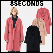 8 SECONDS(エイトセカンズ) コート 8SECONDS★Wool blended single Coat