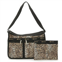 LeSportsac DELUXE EVERDAY BAG ショルダーバッグ OMBRE CHEETAH