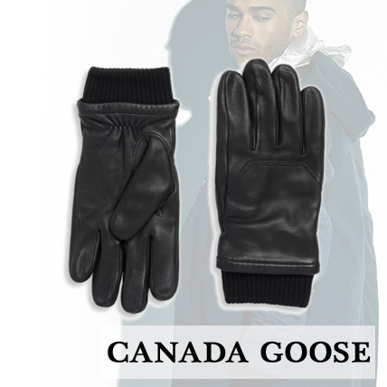 【Canada Goose】Workman Leather Gloves