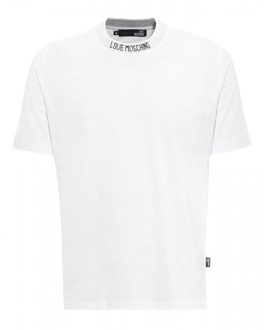Love Moschino Neck Logo T-Shirt Tシャツ ラブモスキーノ