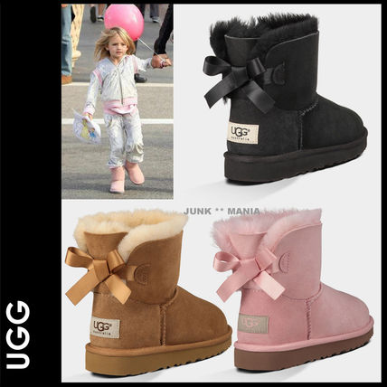 UGG キッズブーツ 大人も履ける★追跡付【即発・UGG】MINI BAILEY BOW