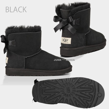 UGG キッズブーツ 大人も履ける★追跡付【即発・UGG】MINI BAILEY BOW(2)