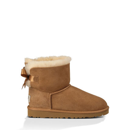 UGG キッズブーツ 大人も履ける★追跡付【即発・UGG】MINI BAILEY BOW(5)