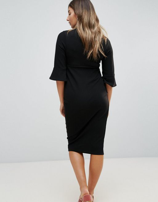 ☆New Look Maternity Flute Sleeve Dress☆