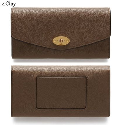 Mulberry 長財布 Mulberry☆Darley Wallet 長財布 カード用スロット12枚!(4)