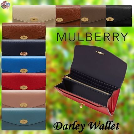 Mulberry 長財布 Mulberry☆Darley Wallet 長財布 カード用スロット12枚!