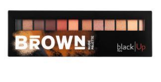 BLACK UP☆限定(Brown Nude Palette)