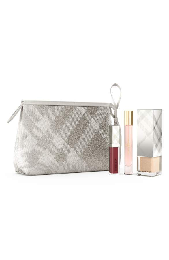 BURBERRY BEAUTY Results Next Festive Beauty Pouch Collection