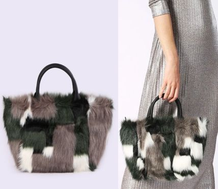 *DIESEL*17AW新作 2WAY ファートート FURRY-TOTE