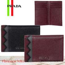 関税込国内発送PRADA☆Saffiano Credit Card Holder 2MC101 2EE3