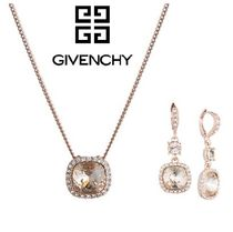 【Givenchy】ジバンシー☆クッションカットネックレス&ピアス