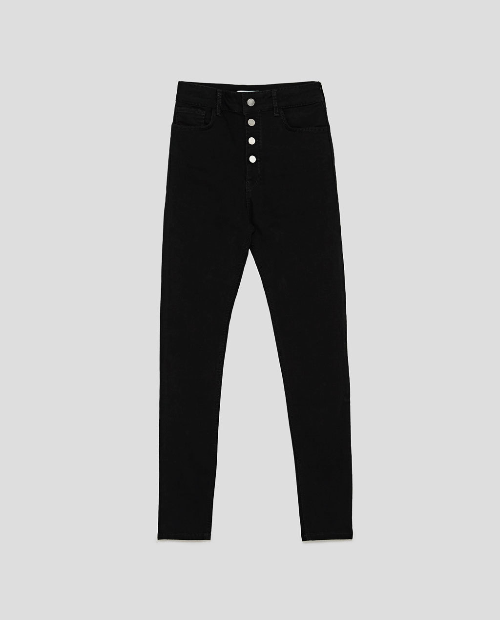 ZARA THE HIGH WAIST JEANS WITH BUTTON FLY 7513/249