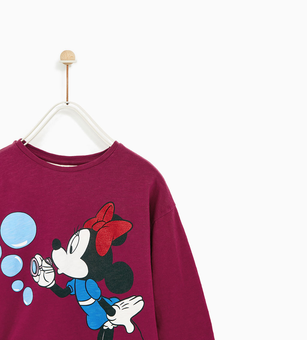 ☆ZARA  KIDS☆MINNIE MOUSE T-SHIRT