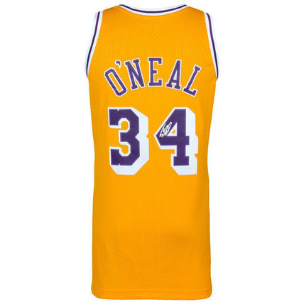 Mitchell & Ness NBA Shaquille O'Neal Autographed Jersey