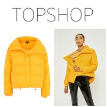 【TOPSHOP】●日本未入荷●新作●Yellow Wrap Puffer Jacket