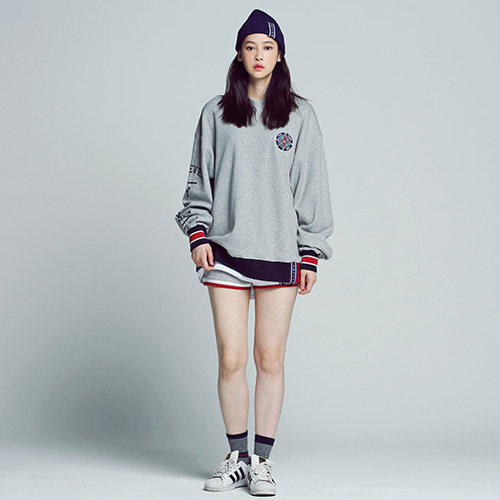 ★ROMANTIC CROWN ★日本未入荷/Forever Young Sweat Shirt(GY)