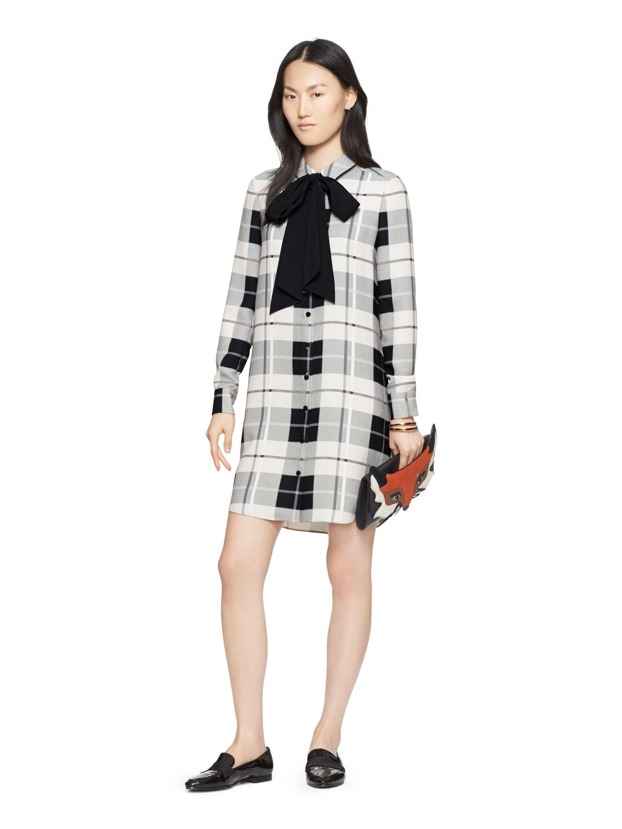 ★kate spade★ WOODLAND PLAID GRIFFIN ドレス