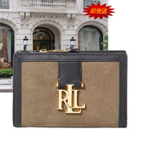 セール! Ralph Lauren Carrington Colorblock Compact 財布