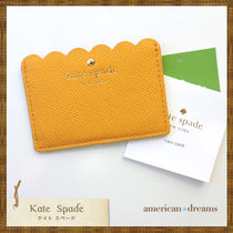 SALE 即発送 kate spade【ケイトスペード】イエローカードケース