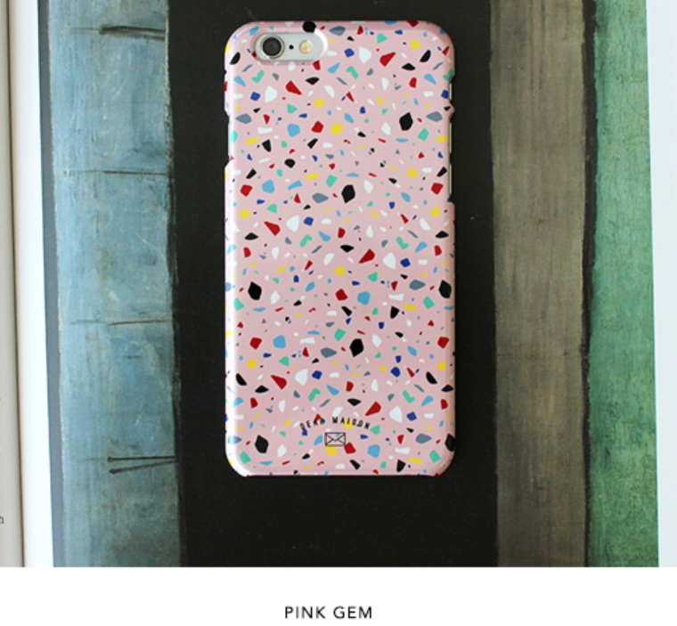 [DEAR MAISON】iPhone 7/6★GEM PHONE CASE-3色