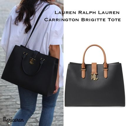 即発送【セール!】Ralph Lauren*Carrington Brigitte Tote