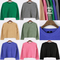 IMVELY(イムブリー) ニット・セーター Ribbed Colored Sweater