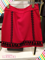 Kate spade pom embroidered skirtポンエンブロイダリースカート