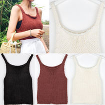 IMVELY(イムブリー) ニット・セーター Knitted Tank Top