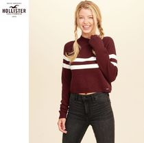 ★送料込★Hollister★Mockneck Crop Sweater★