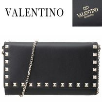 VALENTINO/正規品/EMS送料込み Rock Stud Chain Shoulder Bag