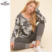 ★送料込★Hollister★Patterned Crewneck Sweater★