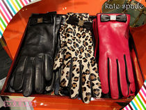 Kate spade★ボウテックグローブ HARDWARE BOW TECH GLOVE☆2色