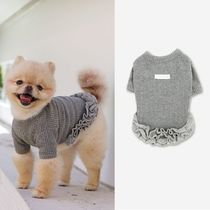 ★ ITS DOG ★ KISS ME FRILL DRESS (GRAY)