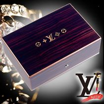 《Louis Vuitton》 ルイヴィトン COFFRET 75 CIGARES マホガ二ー