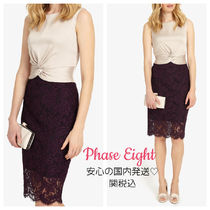 Phase Eight(フェイズ・エイト) ワンピース ◆Phase Eight◆Coralie Lace Dress レース&サテンワンピース