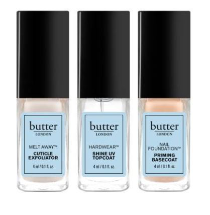 Butter LONDON☆Triple Treat Set