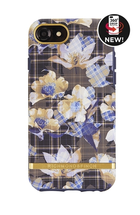RICHIMOND&FINCH☆ iPhoneケース FREEDOM☆FLORAL CHECKED