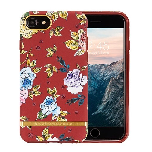 RICHIMOND&FINCH☆ iPhoneケース FREEDOM☆RED FLORAL