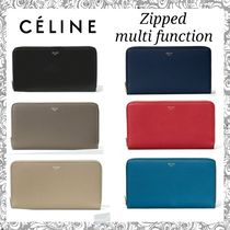 Celine★LARGE ZIPPED MULTIFUNCTION 長財布