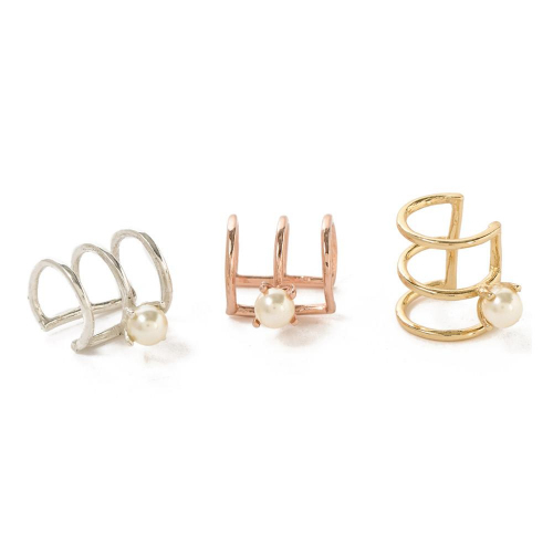 Bing Bang★Delicate Caged Pearl Ear Cuff★ケージ イヤーカフ