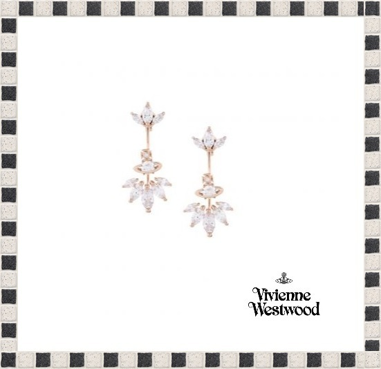 【Vivienne Westwood】EDNA EARRINGS〜VHTCJW0029