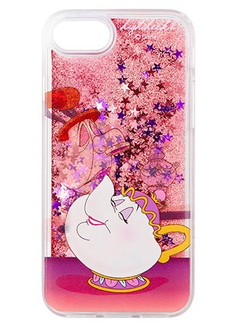 DISNEY+HIGH CHEEKS★グリッターポット夫人iphone 6/6s/7/7+case
