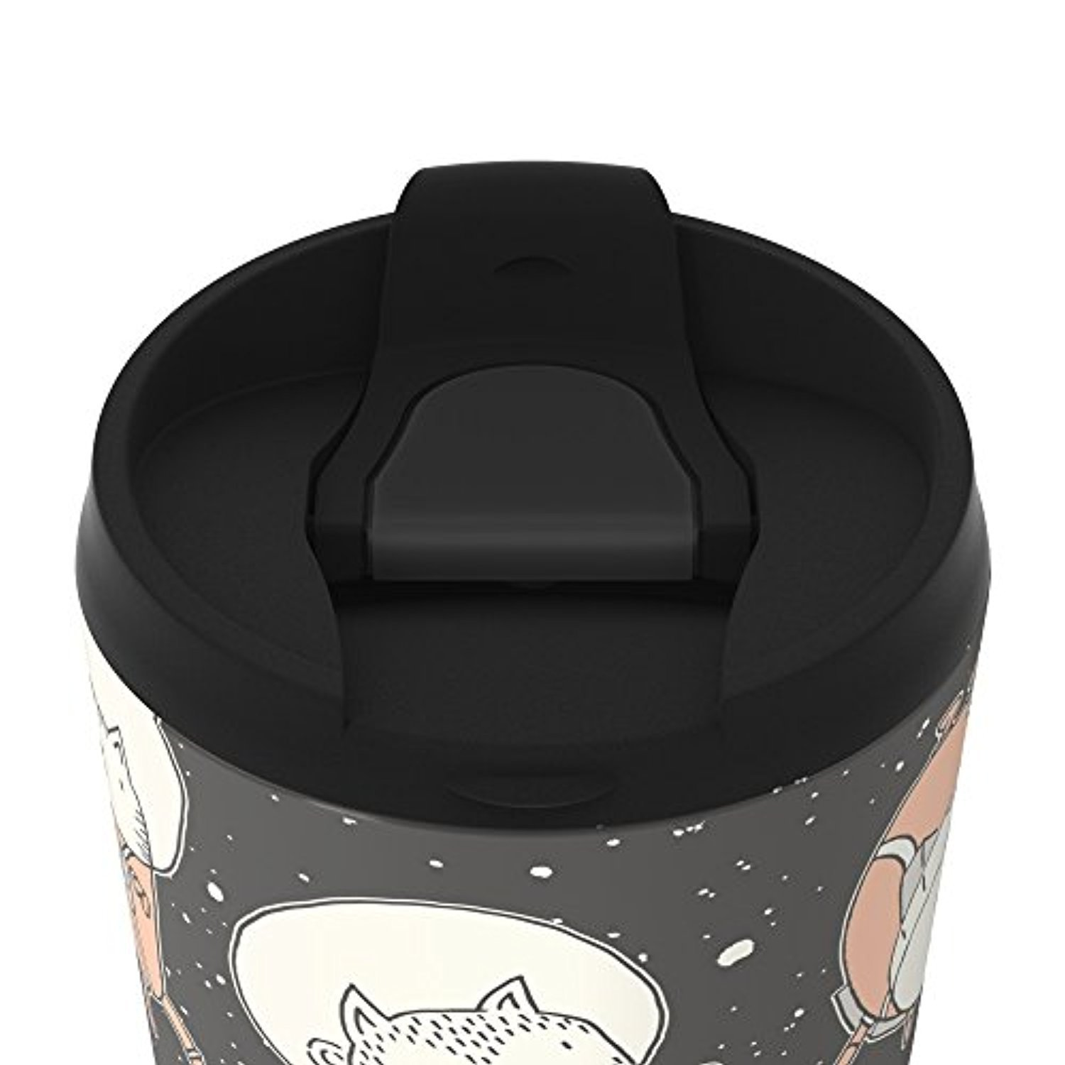 ◎送料込◎ Society6 Cat-Stronauts Metal Travel Mug 15 oz