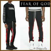 超希少★Fear of God★セレブ愛用 DOUBLE STRIPED TRACK PANTS