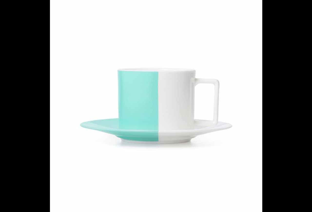 Tiffany & Co★2客セット★ボーン・チャイナ Teacup and Saucer
