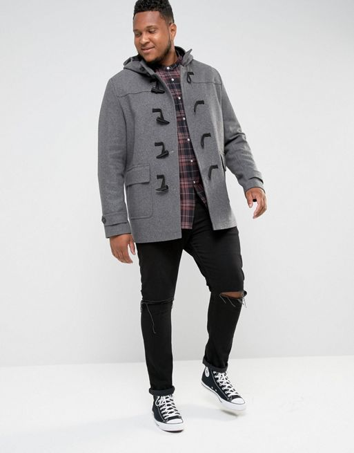 ☆メンズ コート☆PLUS Wool Mix Duffle Coat In L(送料込み)