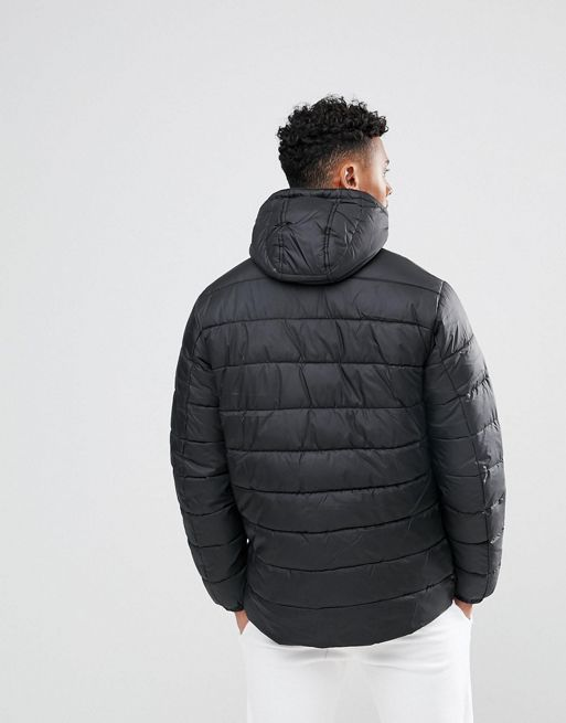 【Hype】ジャケット Padded Jacket In Black(送料込み)